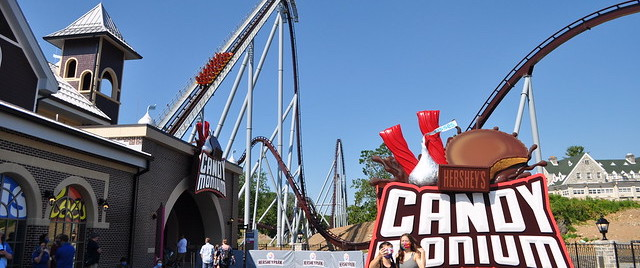 Candymonium Gives Hersheypark a Truly World-Class Ride