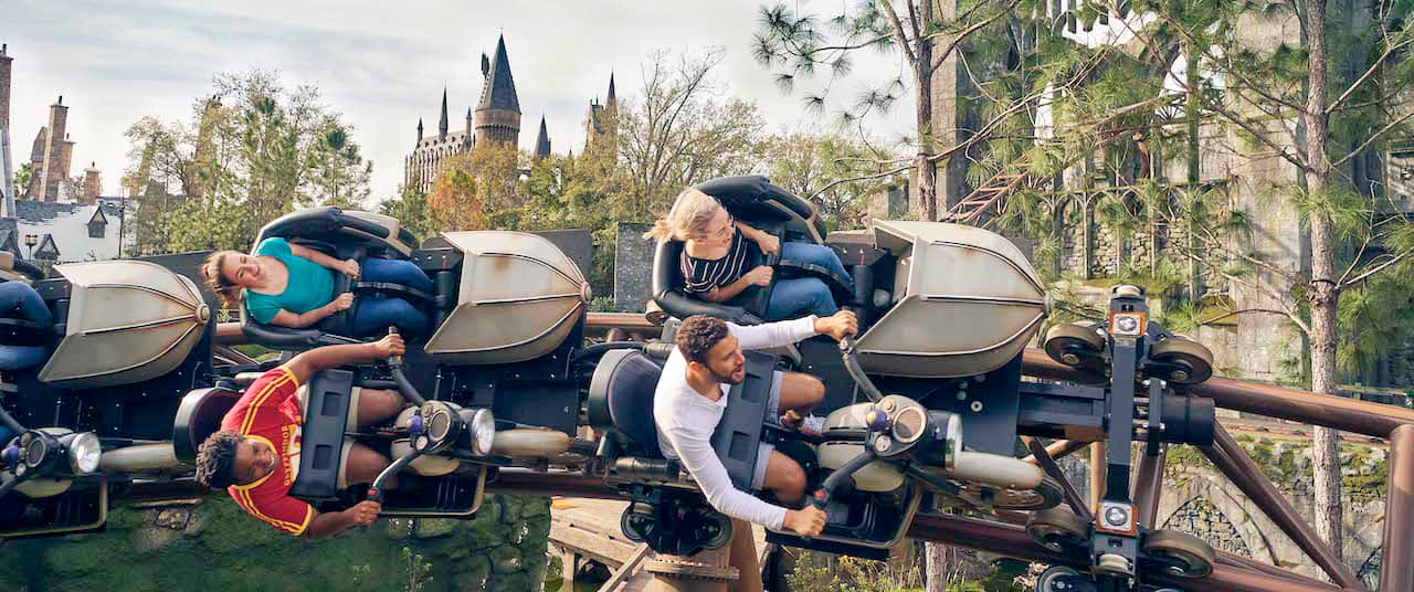 Hagrid's Magical Creature Motorbike Adventure
